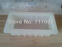 1000g clear color silicone loaf soap mold  3pcs/lot free shipping