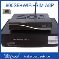 5pcs of  Free shipping satellite receiver dm800hd se DM800 se HD DM800se 800SE turner with WIFI best quality