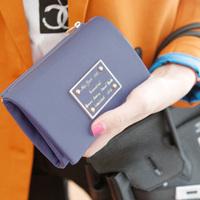 Free shipping 2013 Fashion Female Wallet  OL short design women's Purse Lady's Day clutch