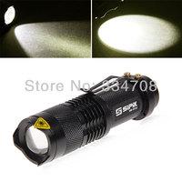 UltraFire Cree SK68-1 3W 1 Modes Mini LED Flashlight (1 x AA Battery)  Free Shipping