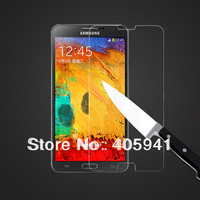 1pcs Thickness Tempered Glass Screen Protector Film For Samsung Galaxy Note 3 N9000 Free shipping  With Retail Box
