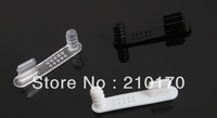 2000PCS 2 in 1 Dock Charger Data port and 3.5mm Audio Ear Port Plug Dust Cap Cover Stopper Fit For iphone 5 5S 007