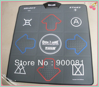 NEW DDR mat English non-slip dancing step dance game mat dance game pad TV& USB 2 in 1 2GB memory card
