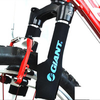 4pcs/lot High Quality Bicycle Front Fork Protective Casing & Bike Shock Smart Cover For MTB Fork Protective Sleeve