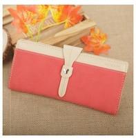 2013 NEW wallet, sweet fresh women's long design wallet, fresh sweet korea style, Carteira Feminina,Cartera ,portefeuille femme,