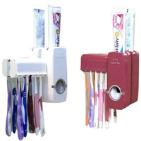 full Automatic toothpaste Dispenser toothbrush holder toothbrush Family set Touch N Brush  free shipping  OT004