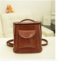 New popular tote women handbag korea style women leather handbags stylish bucket women messenger bag