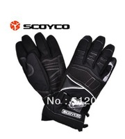 Free Shipping 2014 New Motorcycle Gloves Winter Warm Waterproof Windproof Protective Sports Racing Gears Accessories