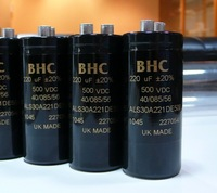 Bhc als30a series 220uf 500v electrolytic capacitor