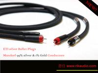 Mundorf silver gold rca gold and silver wire eti signal line