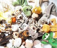 Free Shipping 12pcs/lot Wholesale Factory NICI Pencil Case Animals Plush Toy Cartoon Doll Pen Cosmetic Bag Purse School Supplies