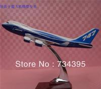 Original model aircraft model Boeing 747-400 aircraft model B747 resin prototype planes vehicles toys 32cm