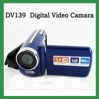 "FREESHIPPING ! Winait DV139 video digital camera Max.12MP 1.8"" TFT LCD LED Flash Light camcorder blue"