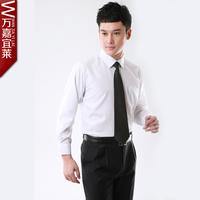 free shipping Wanjia male business formal shirt long-sleeve shirt work wear male work wear shirt