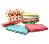 Hot-selling fashion women's wallet long design candy color small boxes wallet card holder