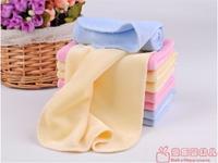 free shipping Male 100% cotton solid color face towel bib velvet small towel baby multi-purpose towel child handkerchief