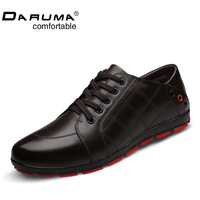 Winter casual shoes Men shoes tidal current Men board shoes leather genuine leather Men shoes fashion single shoes