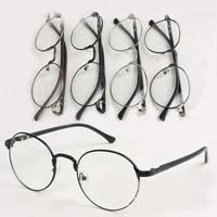 High-Grade Silhouette Round Titanium Eyeglass Frames Men Women's Retro Vintage Metal Glasses Frame Free Shipping