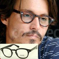 Fashion Computer Glasses Johnny Depp Vintage Eyeglass Frames Men Women Prescription Optic Glasses Wholesale Free Shipping