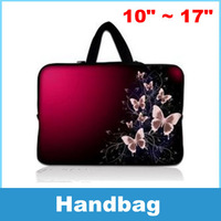 Laptop Sleeve Bag Case Carry Cover Pouch Butterfly patterns For 10 11 12 13 14 15 16 17 17.3 17.4 Inch Notebook Laptop PC
