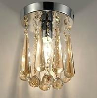 Lamp led lighting crystal ceiling light aisle lights resolved corridor lights