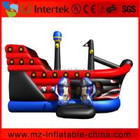 Incredible pirate ship giant inflatable slide