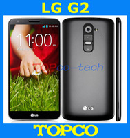 "100%  Original LG G2 D802 Unlocked GSM 3G&4G Android Quad-core RAM 2GB 5.2"" 13MP ROM 16GB WIFI GPS Mobile Phone dropshipping"