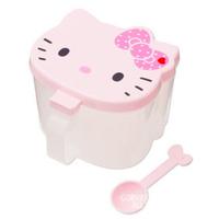 Hello Kitty Kitchen Seasoning Case Plastic Hello Kitty Spice Storage Box Hello Kitty Organizer Salt Holder