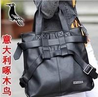 New arrival 2013 women's genuine leather handbag strap bag shoulder bag messenger bag big bags