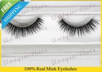 Free Shipping 4pcs/lot 100% real siberian mink fur false eyelash RMZ005 facory sell 40styles mink lashes
