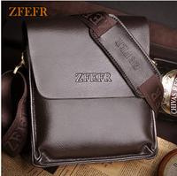 Zfefr male bag cowhide business casual shoulder bag messenger bag genuine leather man bag briefcase a4