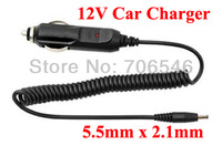 High Quality 500pcs/lLot CAR CIGARETTE LIGHTER POWER SUPPLY ADAPTER 5.5mm x 2.1mm BARREL PLUG 12VOLT DC OUTPUT DHL free shipping