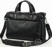 Commercial full calf skin 14 handbag laptop bag briefcase genuine leather man bag