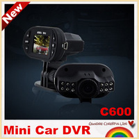 """NEW ARRIVAL!C600 Novatek 1.5""""  LCD Car DVR recorder car camera   HD 1080P 25fps LCD 140 Wide Angle night vision,free shipping!"""