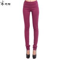2013 high-elastic slim casual trousers skinny pants for ladies