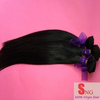New fashion style 100% human hair weft cambodian virgin hair  3pcs/lot 100g/bundle=3.5oz Natural color 1b# can be dyed !!!