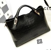 Autumn new arrival bags 2013 fashion crocodile pattern women's shoulder bag the trend women's handbag