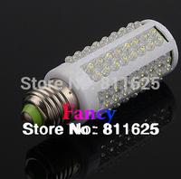 Free shipping LED bulb 7W E27 220V Cold White Warmwhite light LED lamp with 108 led 360 degree Spot led light