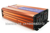 12VDC  2000W  Off-grid Pure Sine Wave Solar  or wind inverter for solar power system ,120/220VAC, 50/60Hz Two year  Warranty
