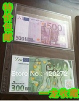 FREE SHIPPING!18cmx12cm,5pcs/lot,2 Pockets Banknote, banknotes,Money loose leaf/ Album Pages