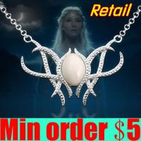 The Hobbit An Unexpected Journey Galadriel Pendant Necklace Elf Necklace