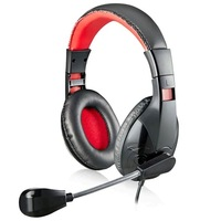 Computer headset earphones headset internet cafe earphones belt