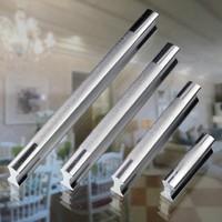"""Aluminium Cabinet Cupboard Kitchen Door Drawer Pulls Handle 3.78"""" 96mm MBS020-3"""