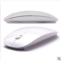 819 promotion free shipping Creative newest fashionable wireless mouse and mice 2.4G receiver, super slim mouse