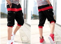 Hot new Men's Sale Sports Gym Jogger Loose Casual Shorts Harem Pants Trouser
