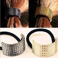 2014 women's headwear fashion semicircle metal hair bands hair rope  free shipping SFD041