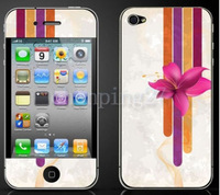 2 Pair New Design Hot Full Body 3D Simplicity Diamond Screen Film For iphone4/4S