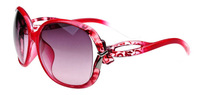 (10 pieces/lot) women sunglasses UV400 ,lady's big frame sunglasses women fashion sunglasses many colors