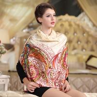 Mulberry silk loulan quality 90 bronzier squareinto soft fashion scarf goldenbarr fresh cape