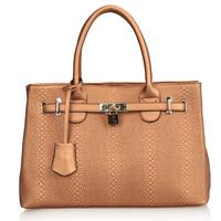 2013 crocodile pattern genuine leather women's handbag fashion bags platinum cowhide bag handbag female 0396